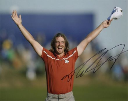 Tommy Fleetwood, Ryder Cup 2018 Paris, signed 10x8 inch photo.